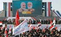 伊朗高级将领遇袭一周年    伊拉克举行反美游行