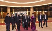 越共中央总书记、国家主席阮富仲出席首次国会普选75周年纪念见面会