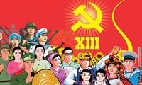 全国人民对越共十三大充满信心和期待