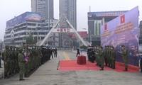 越中两国协调实施共同边界线防疫特别联合巡逻
