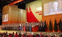 越共十三大的成功激励全党、全民族跨入新发展阶段