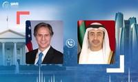 阿联酋与美国就保障中东地区的安全与稳定达成一致