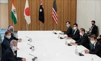 美国、日本、澳大利亚和印度努力举行首次峰会