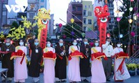 街边书法节开幕式在胡志明市举行