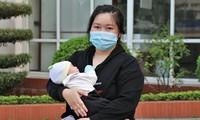 越南首例感染新冠肺炎病毒的新生儿已经康复
