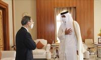 中国和卡塔尔致力于加强战略伙伴关系