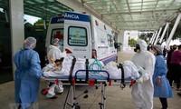 新冠肺炎疫情造成全球254.2万人死亡