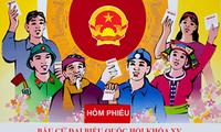 胡志明市以多种方式宣传第十五届国会代表选举