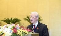 2016至2021年任期国家主席开展多项对外活动,有助于提高越南地位和威望