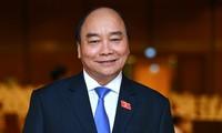 阮春福获国会提名担任国家主席