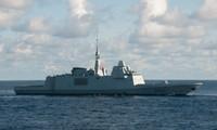 """法国与""""四国联盟""""举行联合军演,共促自由与开放的印度洋-太平洋"""