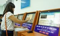 """胡志明市第一郡推出准确度达99%的""""无需纸笔""""公共服务"""