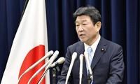 日本对中国在东海的活动表示严重关切
