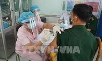 越南近10.7万人接种新冠疫苗