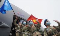 越南再派遣24名军人赴南苏丹执行任务
