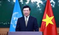 政府副总理范平明在联合国亚太经社会第77届年会上发表视频讲话