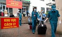 建议不收取经陆路返乡越南人的集中隔离费