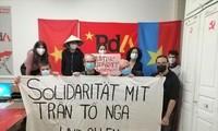 瑞士劳动党对越南橙剂受害者表示团结