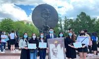 胡志明主席诞辰131周年纪念活动在俄罗斯举行