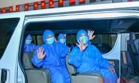 越南各地互相帮助,决心击退疫情
