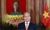 越南国家主席阮春福向越南预防自然灾害传统日75周年致贺信