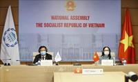 越南出席各国议会秘书长协会视频会议