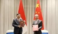 中国和印度尼西亚启动高级别对话合作机制