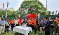 旅居世界各国越南人向新冠肺炎疫苗基金捐款捐物