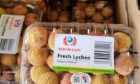 带追溯标签的首批荔枝进军法国市场