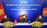 第十五届东盟国防部长视频会议