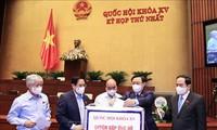 将一些防疫措施纳入越南十五届国会一次会议的决议