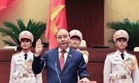 阮春福再次当选国家主席