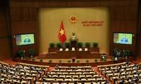 越南第十五届国会第一次会议取得多方面成功