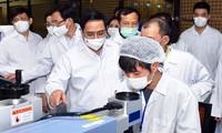 越南政府总理要求采取更有力和有效的防疫措施