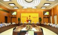 越南国会常务委员会第二次会议向立法工作和国家预算分配规则提供意见