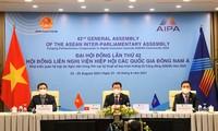 第42届东盟议会联盟大会政治委员会讨论并就网络安全行动达成一致