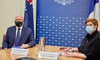 法国和澳大利亚反对加剧东海紧张局势的行动