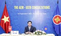 东盟与合作伙伴经济部长磋商达成多项重要内容
