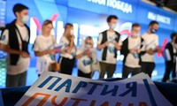 统一俄罗斯党在俄罗斯国家杜马选举中暂时领先