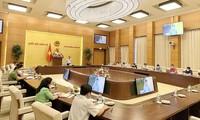 越南国会常务副主席陈清敏:集中研究并就革新国会会议举行方式建言献策
