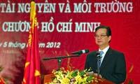 Peringatan ultah ke-10 berdirinya Kementerian Kekayaan Alam dan Lingkungan Hidup