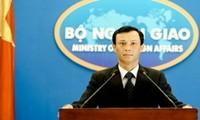Jubir Kemlu Vietnam menyatakan bahwa pengesahan RUU tentang HAM Vietnam dari Parlemen AS berdasarkan pada informasi-informasi yang salah dan kurang obyektif