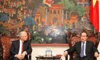 Memperkuat kerjasama antara semua daerah Vietnam dengan negara bagian Hessen, Republik Federasi Jerman