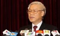 Pengumuman dari Sidang Pleno ke-6 Komite Sentral Partai Komunis Vietnam