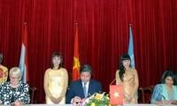 Lukxembourg memberikan bantuan sebanyak USD 8,1 juta kepada Vietnam untuk melaksanakan proyek-proyek sosial – ekonomi