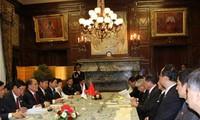Ketua MN  Vietnam Nguyen Sinh Hung melakukan kunjungan resmi di Jepang