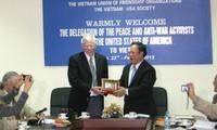 Delegasi sayap kiri Amerika Serikat melakukan kunjungan kerja di Vietnam