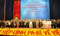 Rapat umum memperingati ultah ke-40 hari penanda-tanganan Perjanjian Paris