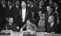 Sahabat internasional, sumber kekuatan spiritual Vietnam dalam perundingan Perjanjian Paris