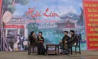 Datang di daerah lagu rakyat Quan Ho dan merayakan Pesta Lim pada awal musim Semi